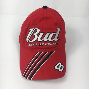 Dale Earnhardt Jr #8 Bud King of Beers Red Cap